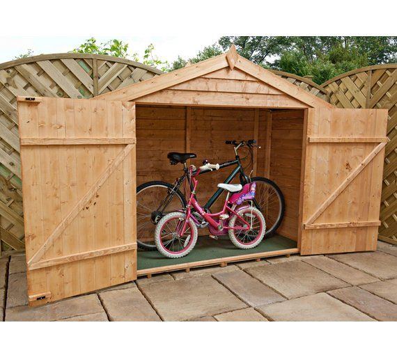 Buy Mercia Garden Overlap Bikestore at Argos.co.uk, visit Argos.co.uk to shop online for Garden storage boxes and cupboards, Conservatories, sheds and greenhouses, Home and garden
