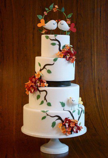 Love birds cake!--maybe next time.