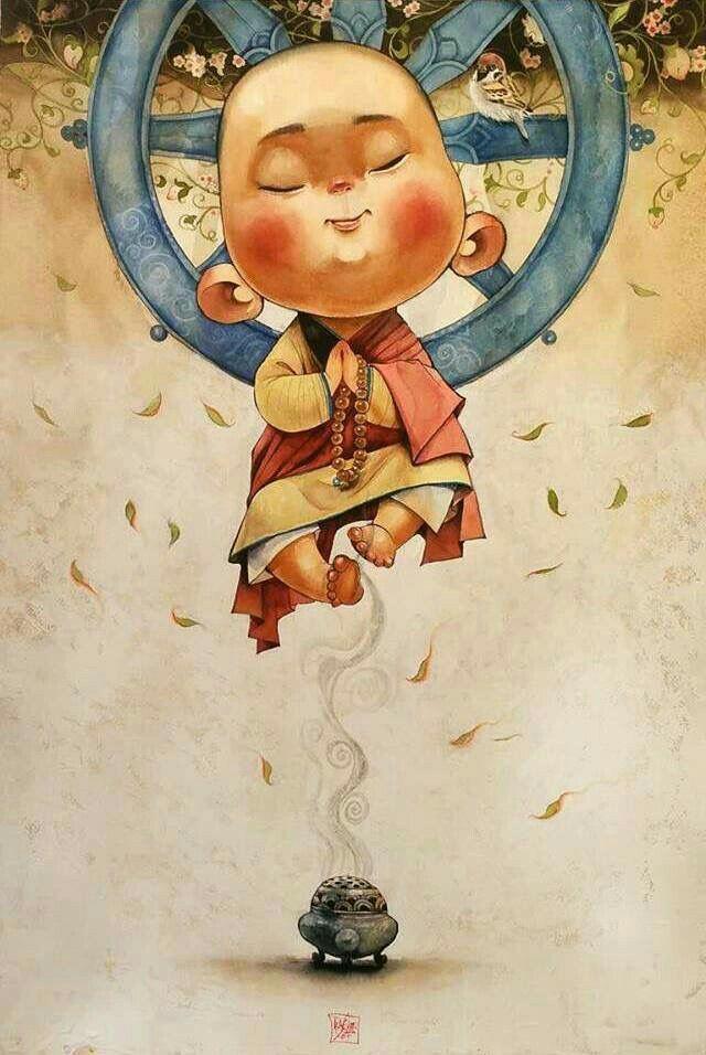 Hei Cho Seungyoun In 2020 Buddha Art Painting Budha Art Buddhism Art