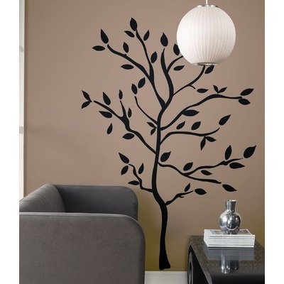 Room Mates Tree Branches Peel and Stick Wall Decal | AllModern - bedroom? Instead of headboard?