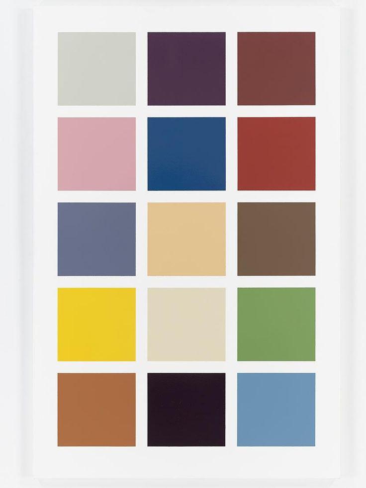 Gerhard Richter: Colour Charts - Exhibitions - Dominique Levy Gallery