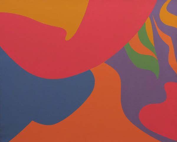 Fernand LEDUC - Flashe (1969)