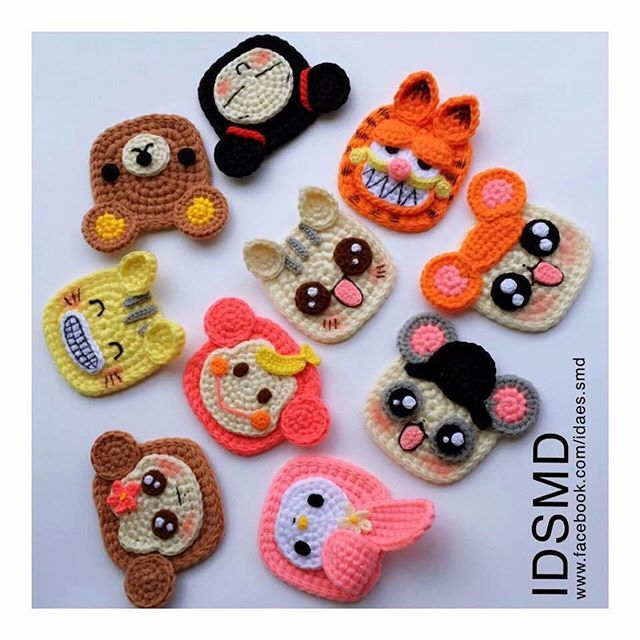 #IDSMD #crochet #colourful #ideas #handmade #knit #yarn #happytime #bag #Pocket #Purse #Wallet #coin #new #2015 #time #last #key #Keycover #Wow #crochetaddict #set #cat #pooh #cartoon #mymelody #owl #pattern #minions  www.facebook.com/Ideas.SMD
