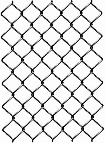 Deacero 10661 Galv 72 H Barbed Knuckle Weave Chain Link Fence 12 5ga 50ft Red Digital Borders Design Chain Fence Woven Chain