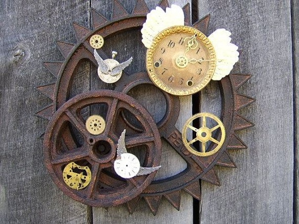 Steampunk Wall Feature Part 84