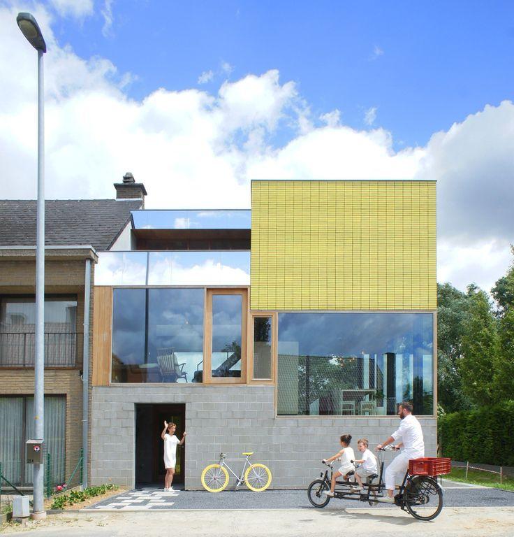 A casa como palco – casa unifamiliar belga de atelier vens vanbelle   – Einrichten und Wohnen