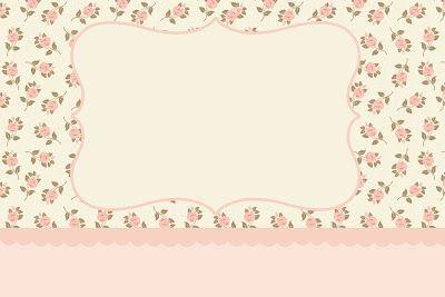 Floral Rosa – Kit Completo com molduras para convites, rótulos para guloseimas, lembrancinhas e imagens! |Fazendo a Nossa Festa