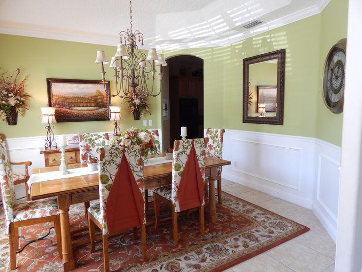 A Posh Dining Room