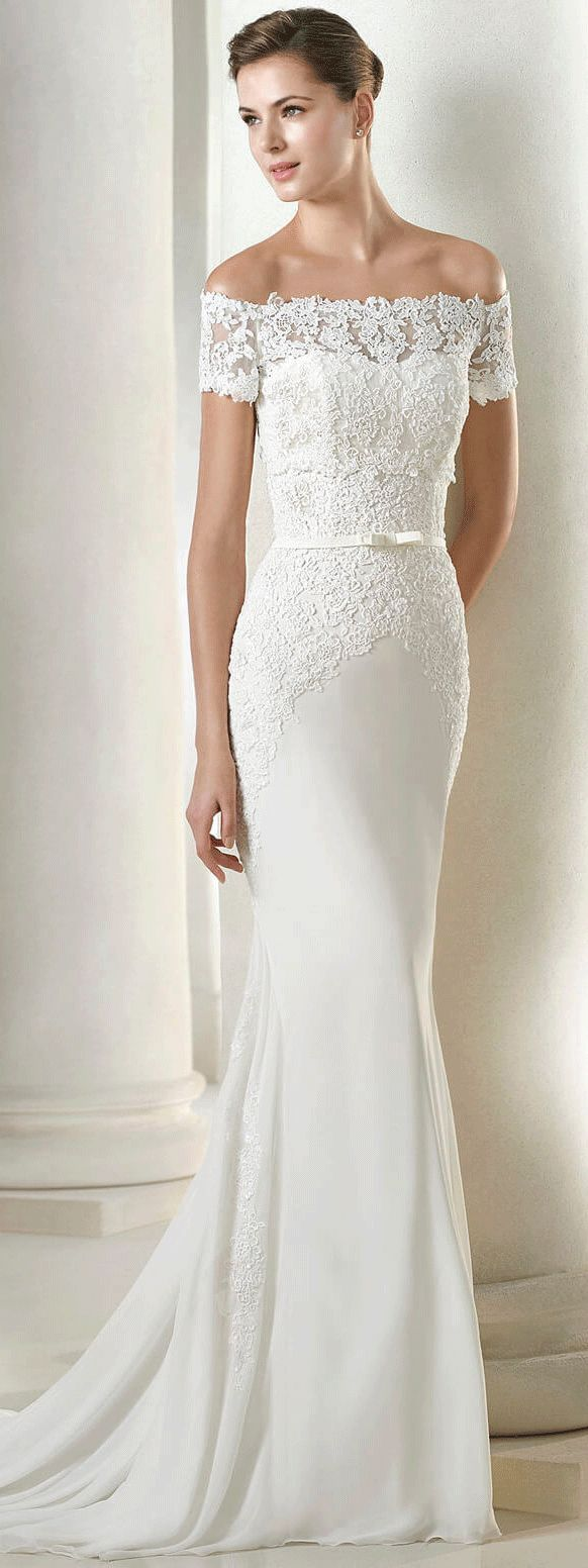 486 best images about wedding dresses on pinterest tulle for Plus size fall wedding dresses