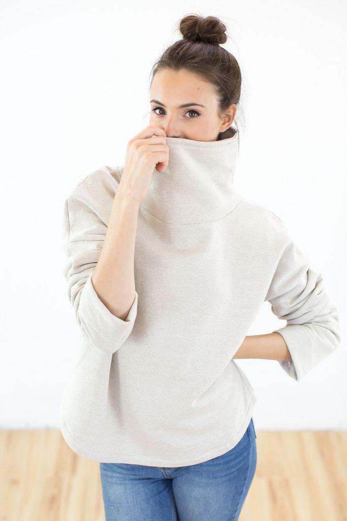 Sweatshirt Jay Beige