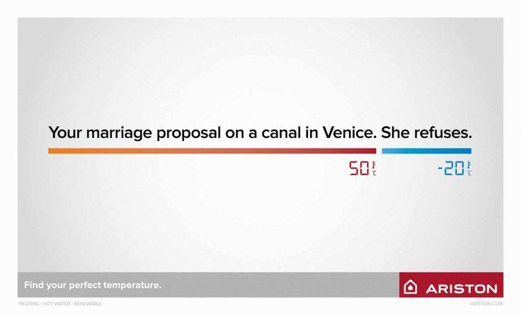 Ariston: Marriage proposal
