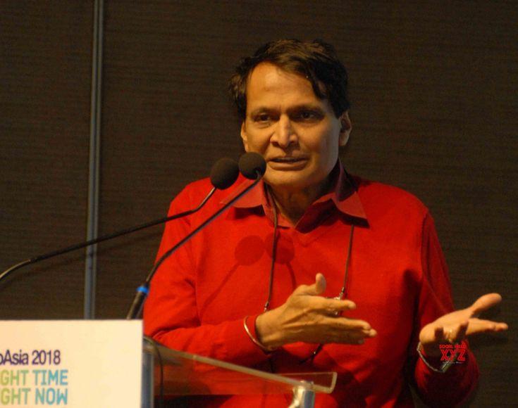 Hyderabad: BioAsia 2018 Suresh Prabhu, K T Rama Rao #Gallery - Social News XYZ