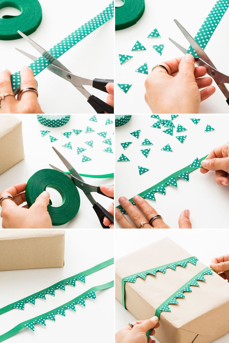 Wrapping tips for gorgeous gifts every time brit co - 7 Easy Ways To Make Gift Toppers That Pop Via Brit Co