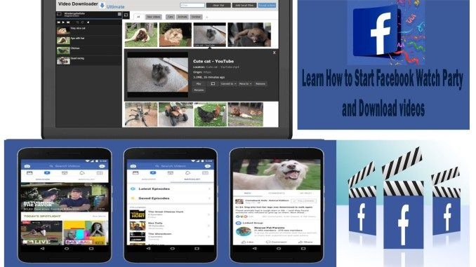 Facebook Watch Party How To Start A Watch Party On Facebook Facebook Watch Party Video Download Tipcrewblog In 2020 Watch Party Facebook Platform Video