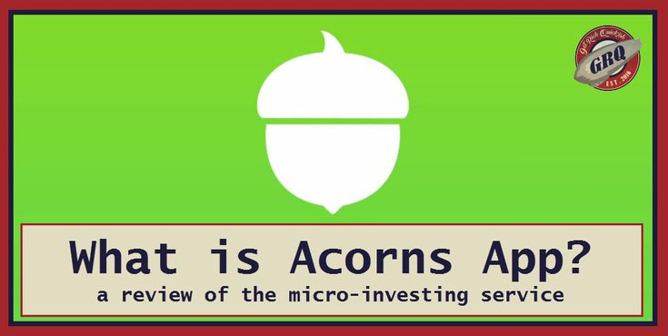 What is Acorns? A review of the micro-investing service and affiliate program.  Acorns App. Save Spare Change.