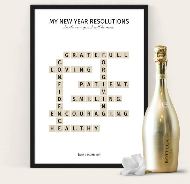 New Year Resolutions Poster