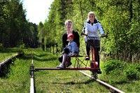 Paddla cykla dressin tillbaka i Skåne - kanotuthyrning paddla kanot på rönneå paddlakanot kanotpaddling kanotcentral skåne