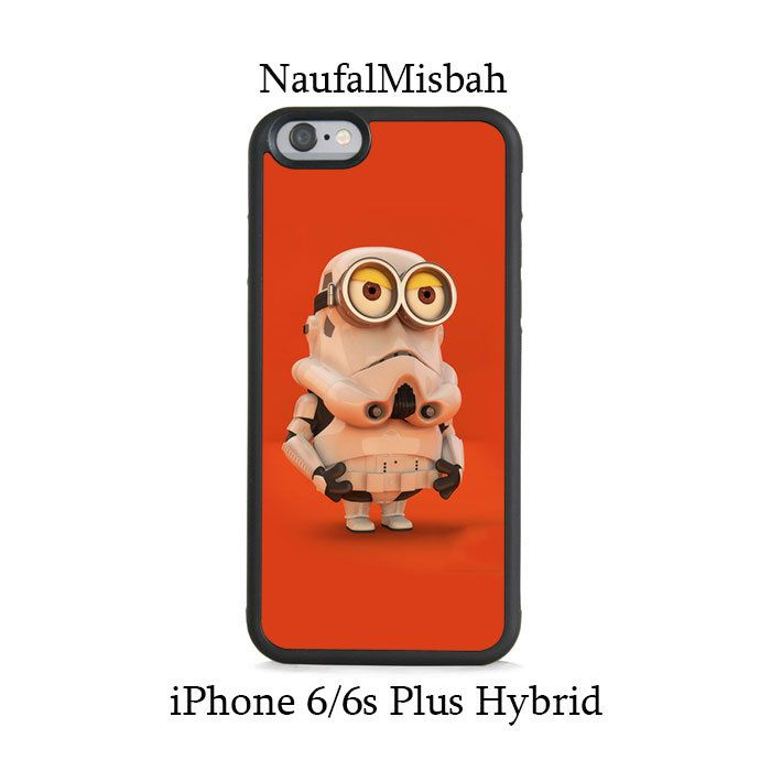Stroomper Despicable Me Minion iPhone 6/6s PLUS HYBRID Case Cover