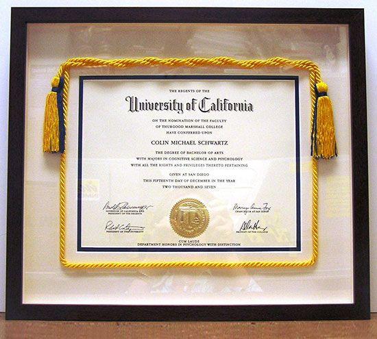 25 Best Diploma Display Ideas On Pinterest Photo