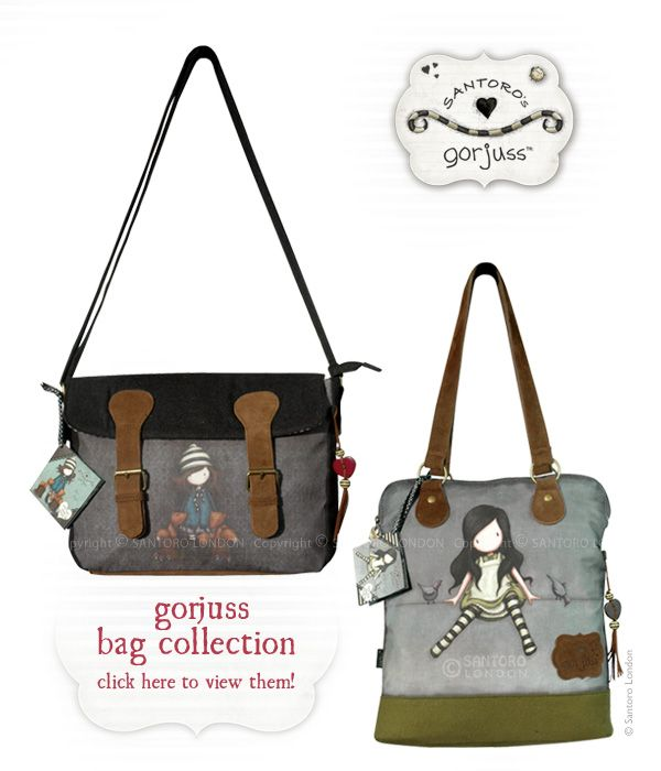 Fantastic News from Santoro: New Gorjuss Bag Collection is available!