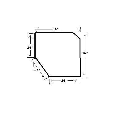 Kitchen Corner Cabinets Dimensions