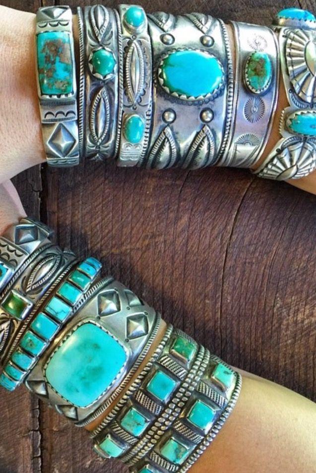 turquoise cuff bracelet heaven