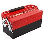 MultiWare Cantilever Tool Box 3 Tier 5 Tray 17inch