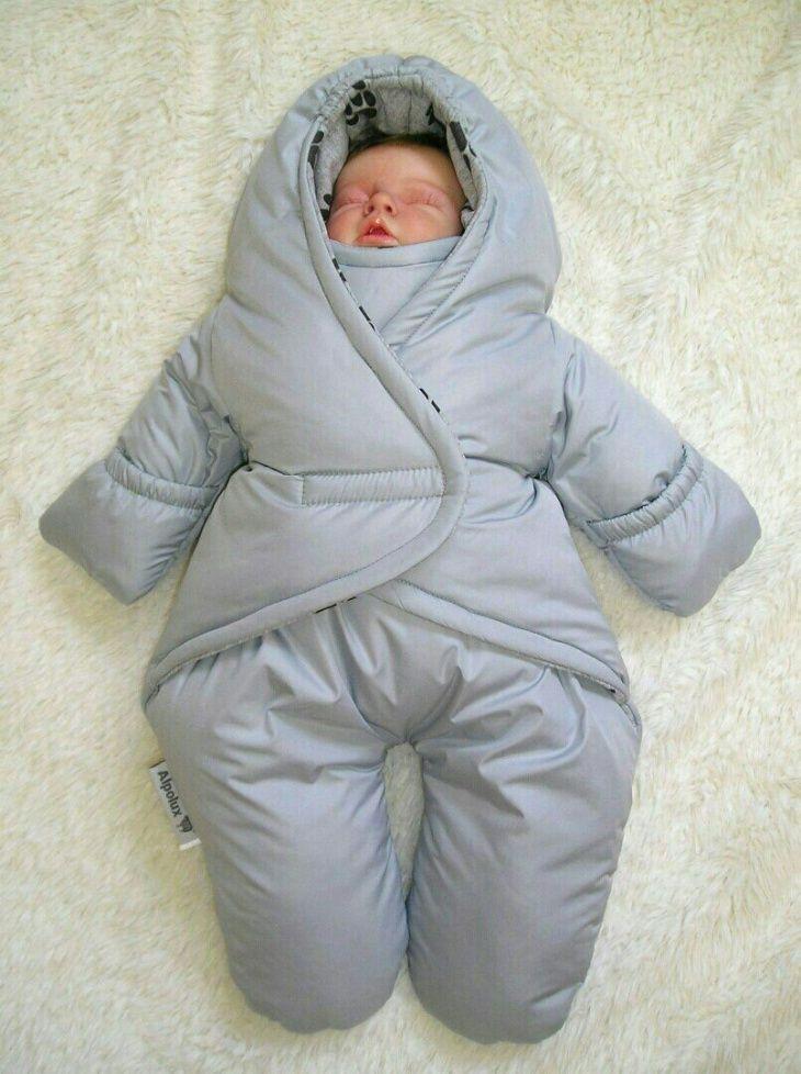 выкройки стильного комбинезона и комбинезона - спального мешка для малышей