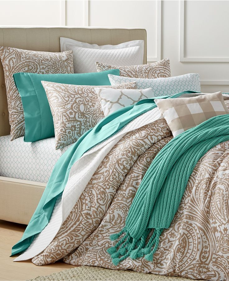 charter club damask designs paisley taupe bedding collection created for macyu0027s bedding collections bed u0026 bath macyu0027s