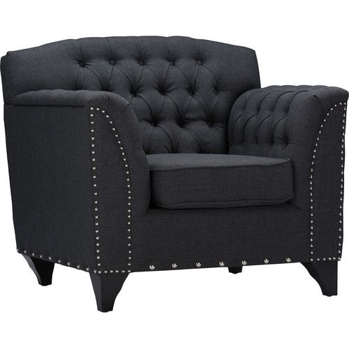 Found it at Wayfair - Baxton Studio Mckenzie Arm Chair