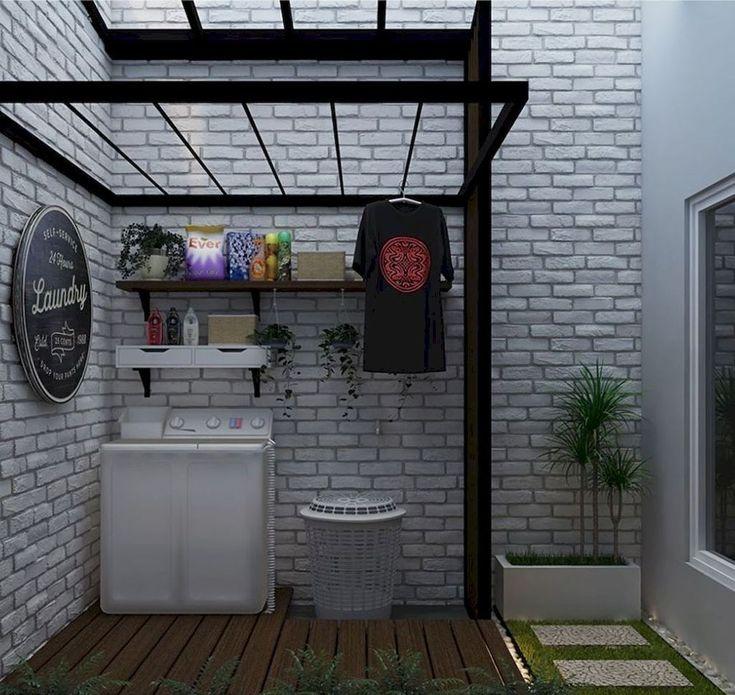 30+ charmante kleine Waschküche Design-Ideen für Sie