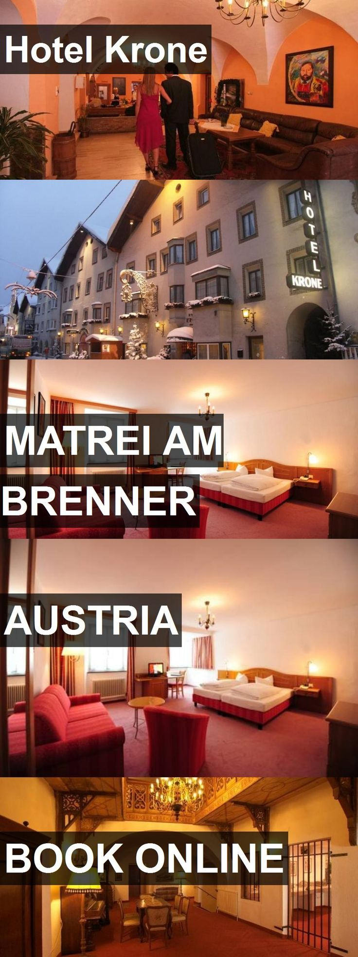 Hotel Krone in Matrei am Brenner, Austria. For more information, photos, reviews and best prices please follow the link. #Austria #MatreiamBrenner #travel #vacation #hotel