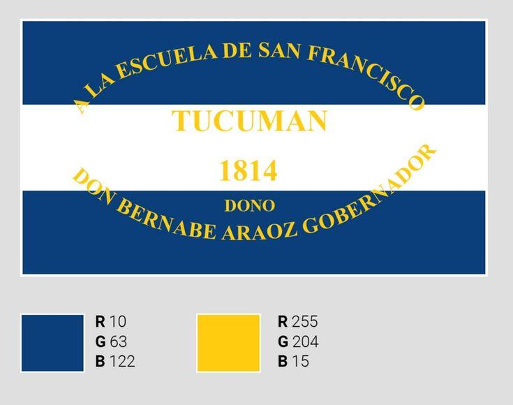 Científicos del Conicet revelaron el color original de la bandera argentina