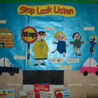 People Who Help Us Class Display,class display, People Who Help Us, Lollipop Lady, Stop Look and Listen, Early Years (EYFS), KS1 & KS2 Primary Resources