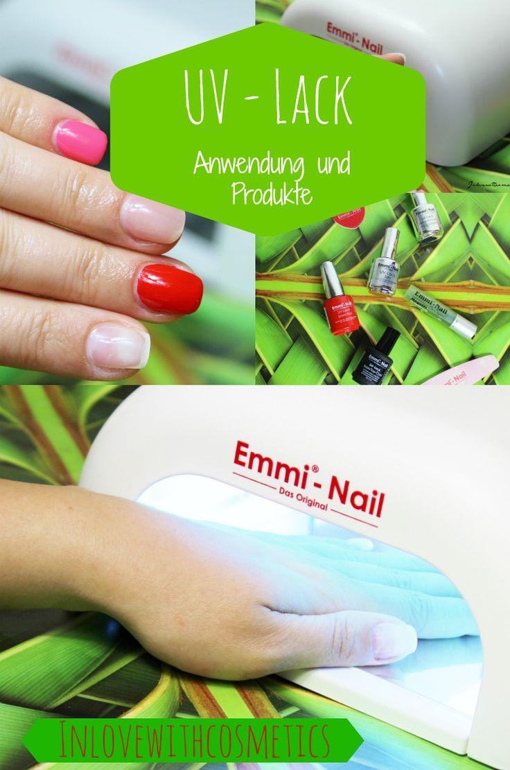 Du überlegst schon länger, dir UV Lacke zuzulegen? Ich habe ein tolles UV-Lack Set von Emmi-Nail getestet und zeige dir Schritt für Schritt was du alles benötigst und wie es funktioniert. So kommst du zu einem langanhaltenden, strahlenden und gepflegten Nageldesign!  #emminail #emminails #emmi_nails