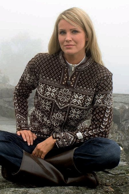 DALE OF NORWAY | Peace Feminine Sweater | Shop now at Daleofnorway.com