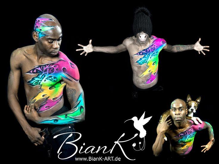 #Bodypaining #dance #color #body #paint #boston_terrier #Biank_art #Kellerbauer #funny #lustig #farbe #danceflavour #hip_hop #Maya #Bianca #followforfollow #lol #family