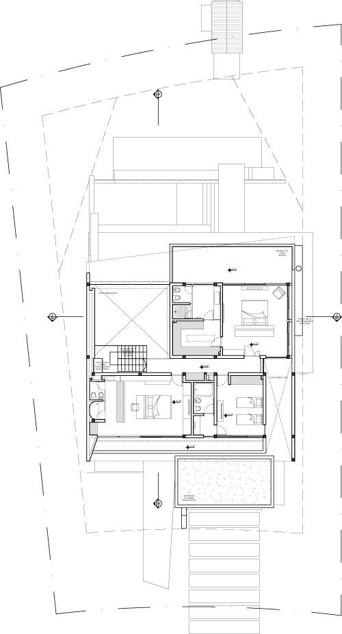 DLC House / Vanguarda Architects (planta alta)