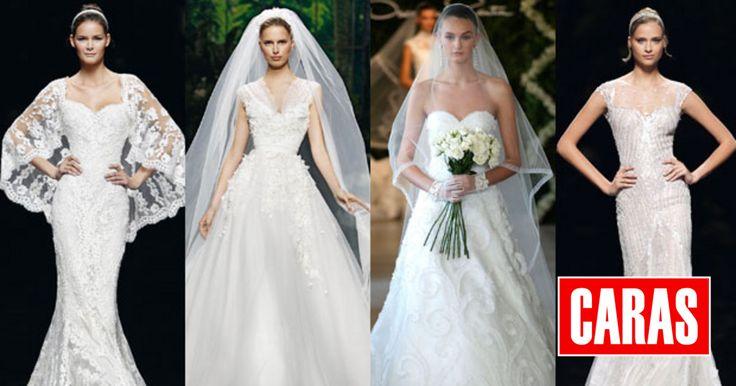 Na semana em que se realiza o casamento real do Luxemburgo, sugerimos-lhe vestidos de noiva de sonho. Modelos que desfilaram nas 'passerelles' e inspiram noivas de todo o mundo.