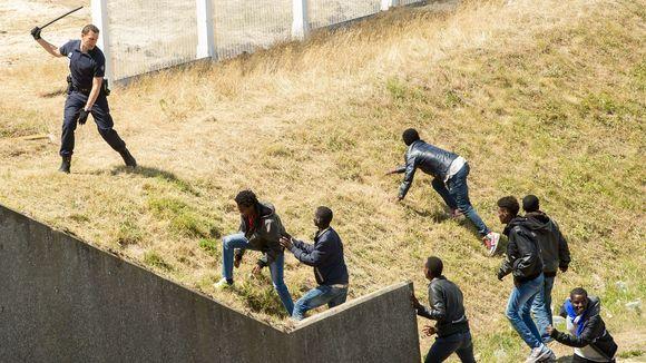 Flüchtlinge Calais