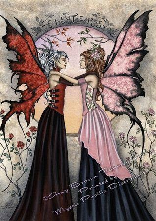 Sister---Amy Brown Fairies  ♡♡-Brit - This painting reminds me of someone very special.