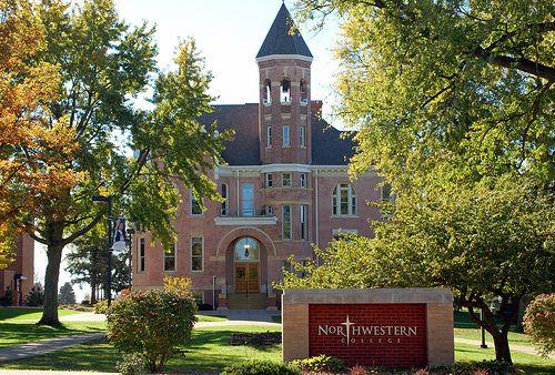 Northwestern College, in Orange City IA. Designated as a Green Site since 2008!