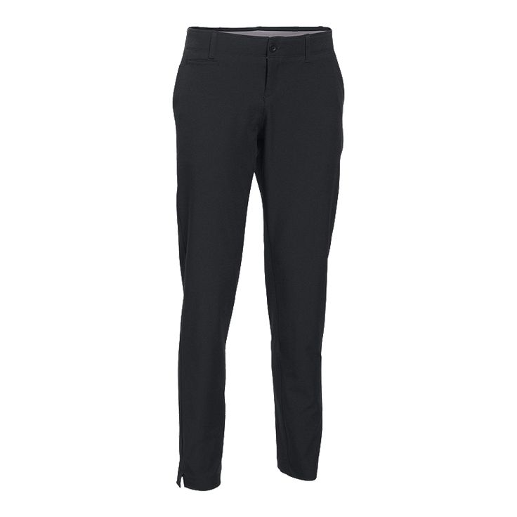 Enjoy your day of golf even more when you experience the stretchy comfort of Under Armour Links Women's Pants. These water repellent golf pants have been designed to stretch along with you, ensuring lasting comfort swing after swing.