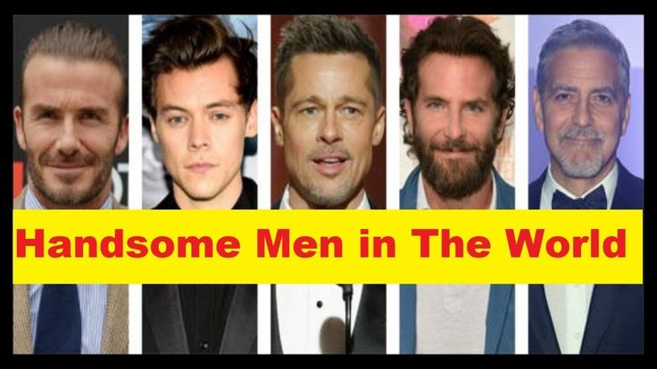 Top 10 Most Handsome Men in The World 'Handsome Boys in the World'