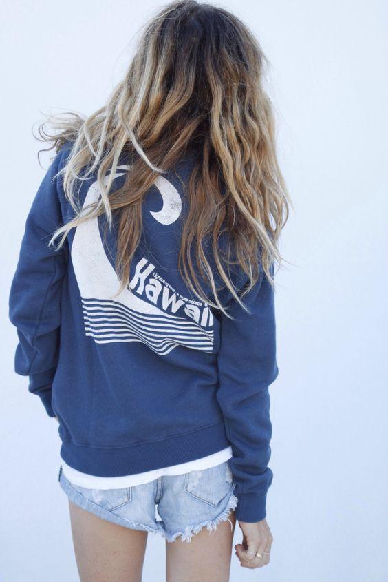 hawaii pullover // ascotandhart.com: