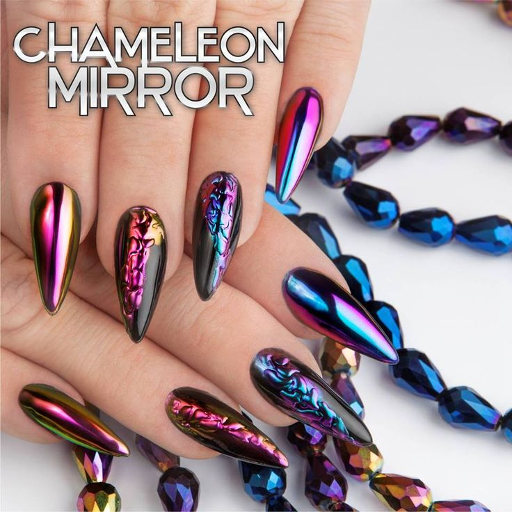 Amazing Chameleon Mirror by Nails Company