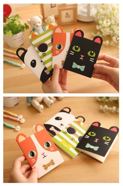 Notebooks | korean stationery | Animal | Notepad | Kawaii | Compact | Cool | Lines – TodTots