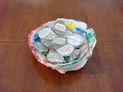 Conversation stones (how to make, craft at a MOPS group)