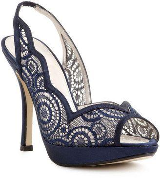 cute lace blue shoe for me