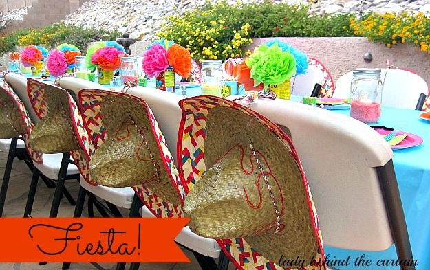 Lady Behind The Curtain - Fiesta! Several recipes